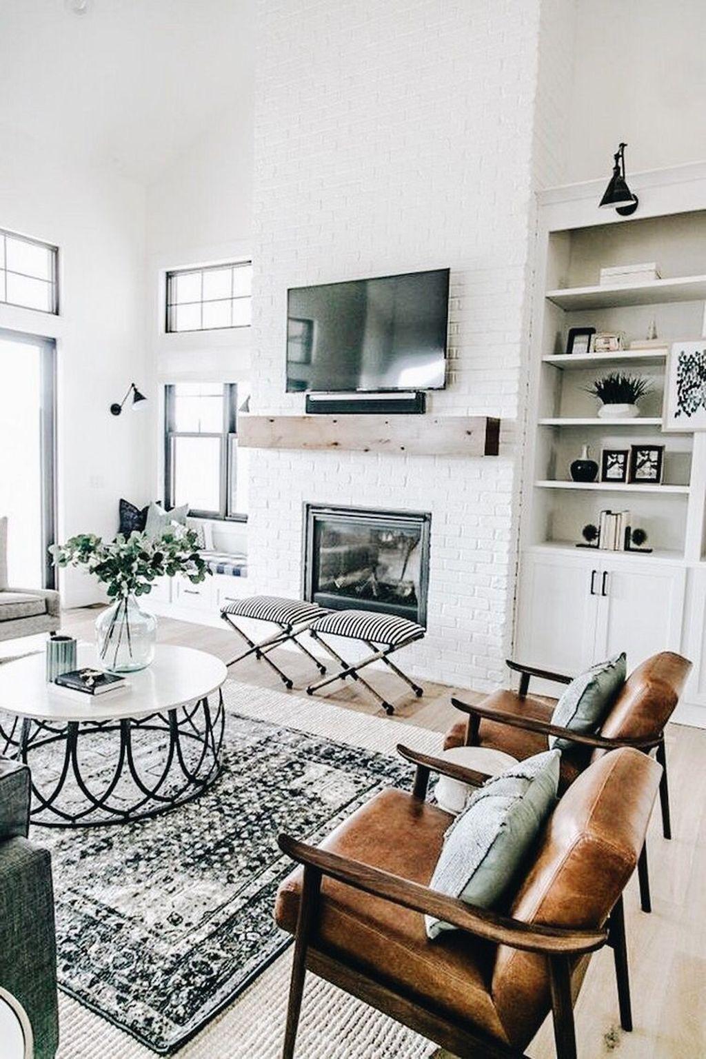 Beautiful Contemporary Living Room Decoration Ideas 19
