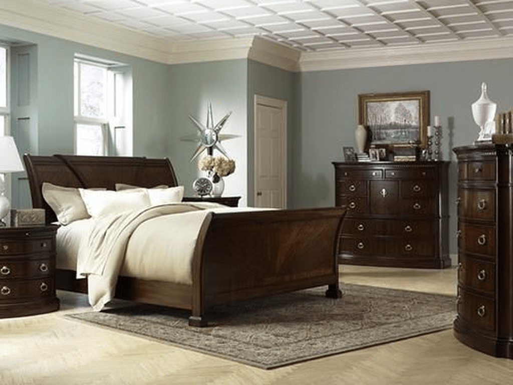 Beautiful Dark Wood Furniture Design Ideas For Your Bedroom 11