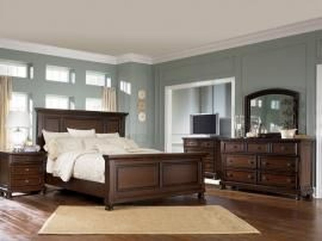 Beautiful Dark Wood Furniture Design Ideas For Your Bedroom 14