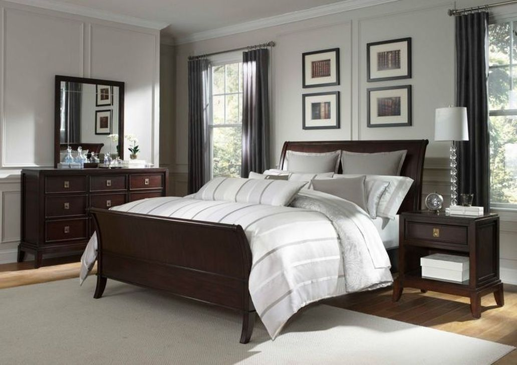 Beautiful Dark Wood Furniture Design Ideas For Your Bedroom 15