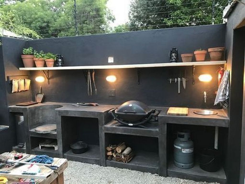Fabulous Outdoor Kitchen Design Ideas You Must Have 04