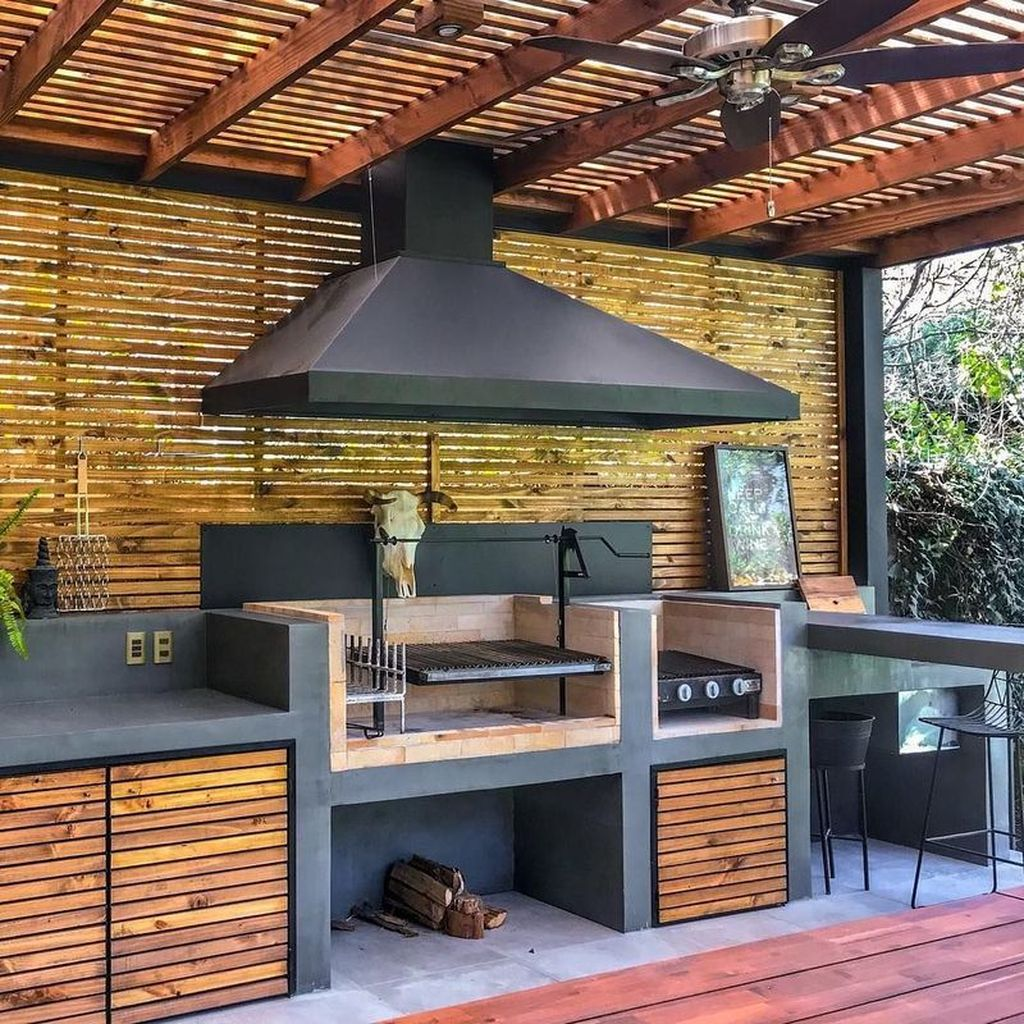 Fabulous Outdoor Kitchen Design Ideas You Must Have 06
