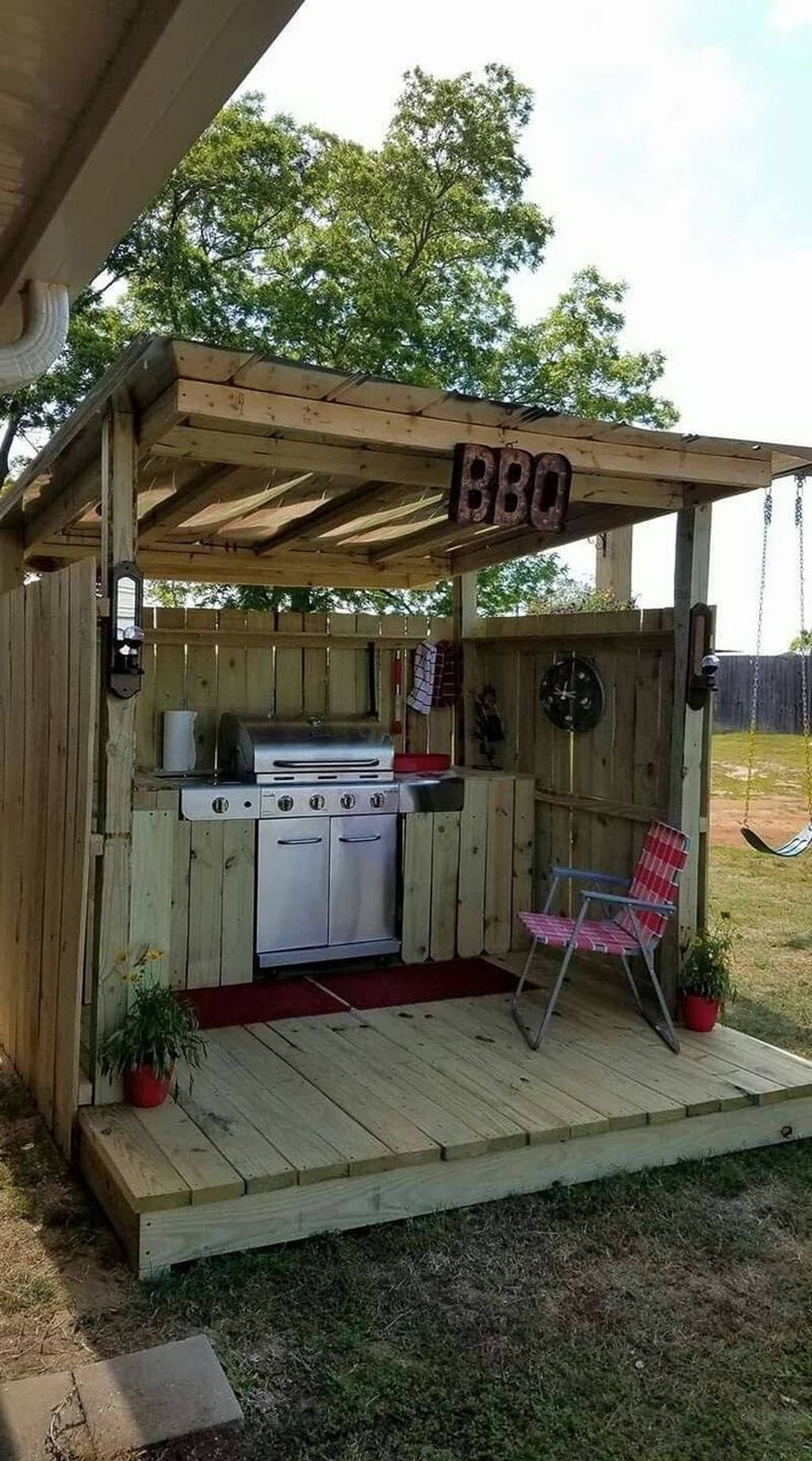 Fabulous Outdoor Kitchen Design Ideas You Must Have 07