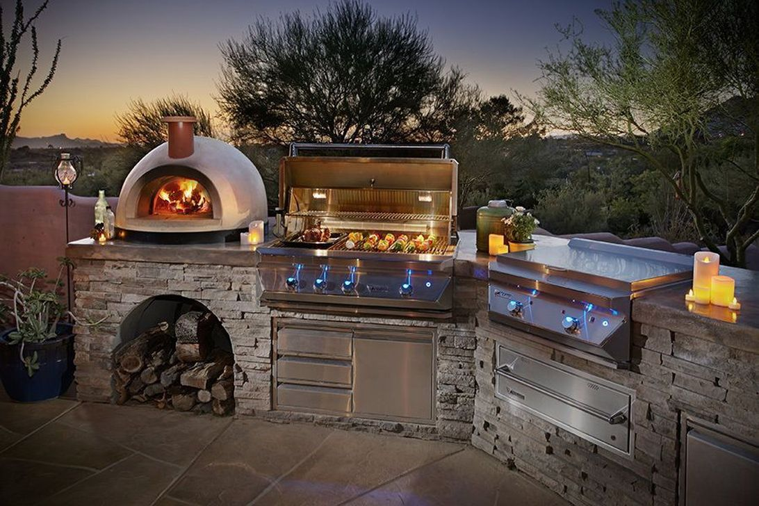 Fabulous Outdoor Kitchen Design Ideas You Must Have 32