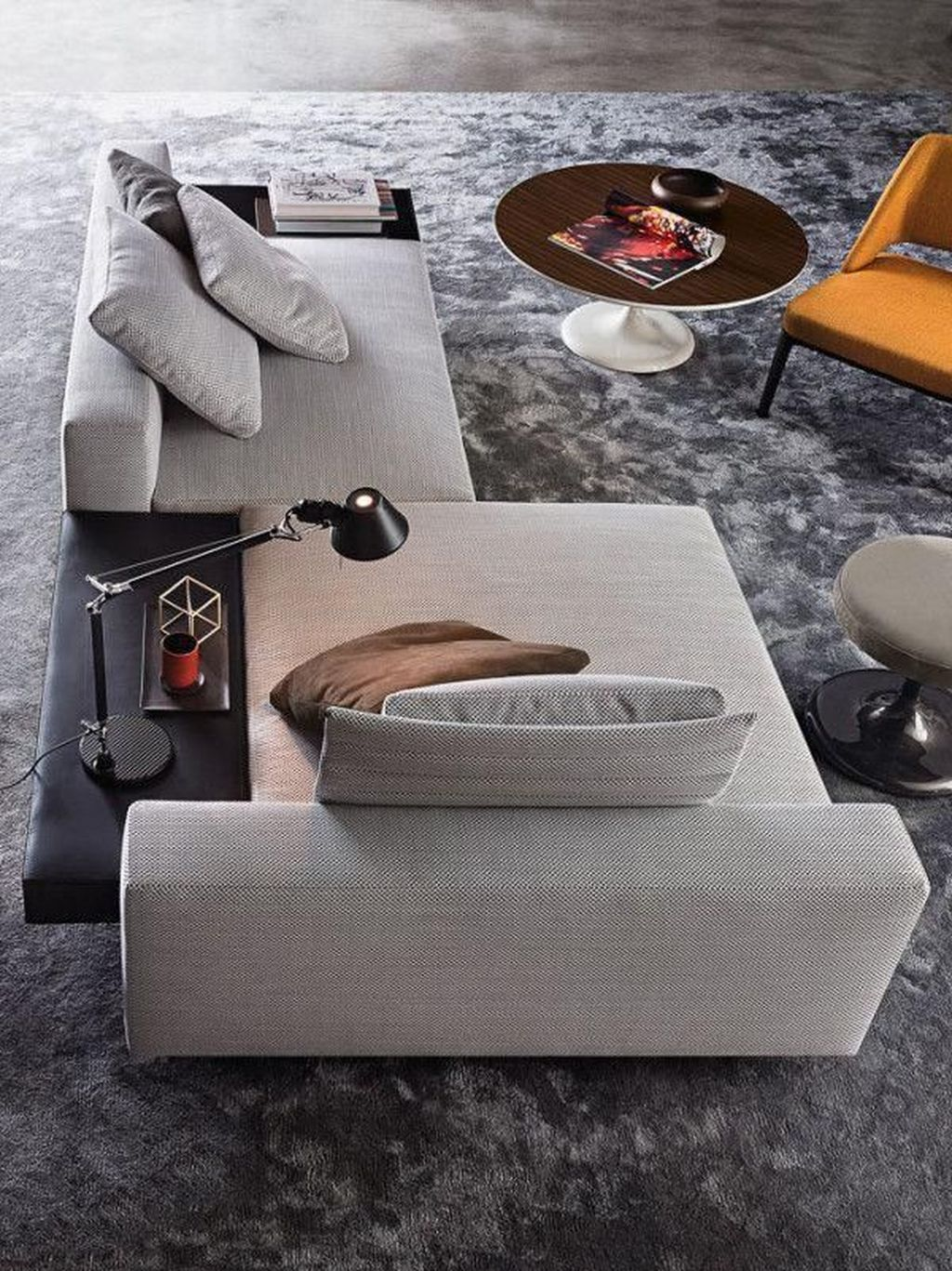 Gorgeous Modern Sofa Designs That You Definitely Like 14