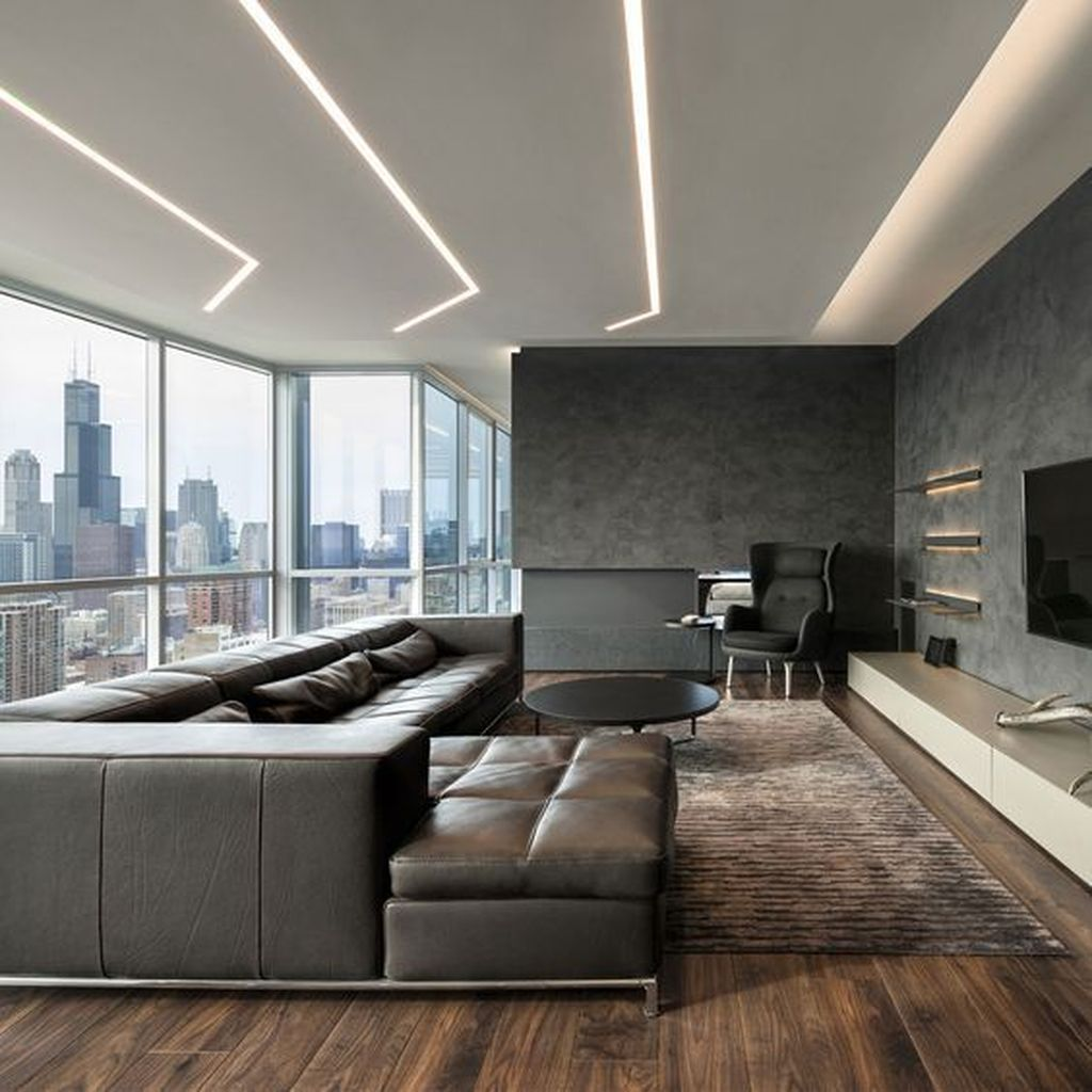 Inspiring Drywall Design Ideas To Beautify Your Interior 27