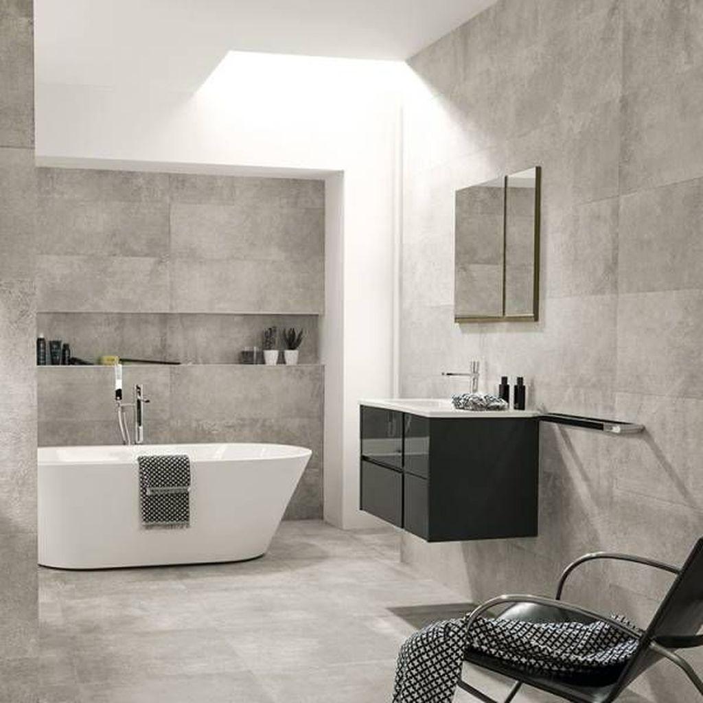 Lovely Bathroom Ceramic Tile Ideas You Should Copy 14