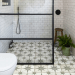Lovely Bathroom Ceramic Tile Ideas You Should Copy 25