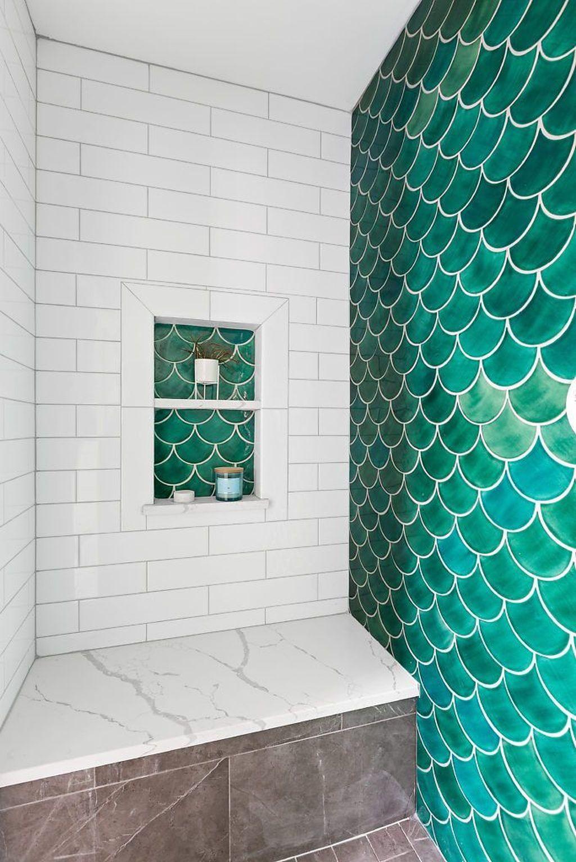 Lovely Bathroom Ceramic Tile Ideas You Should Copy 31