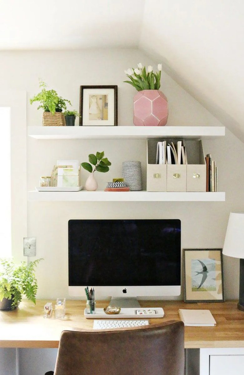 Nice Small Home Office Design Ideas 12