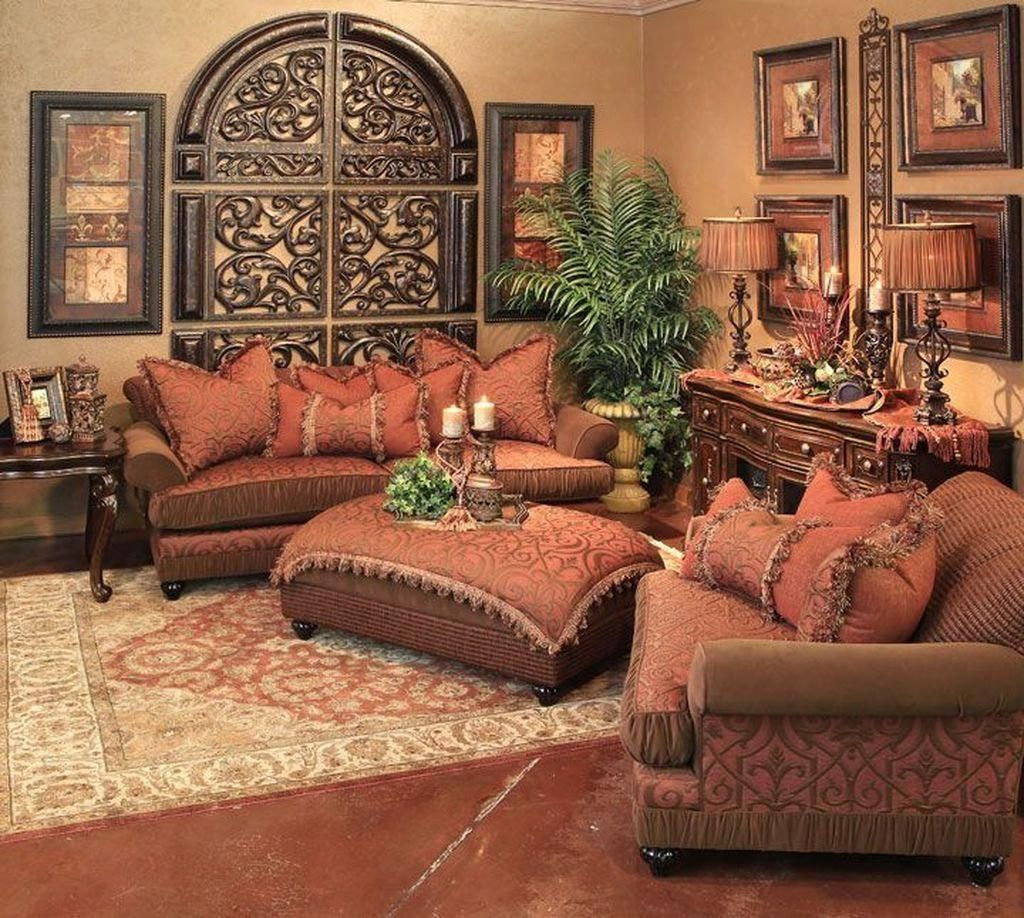 Nice Tuscan Living Room Decor Ideas You Will Love 02