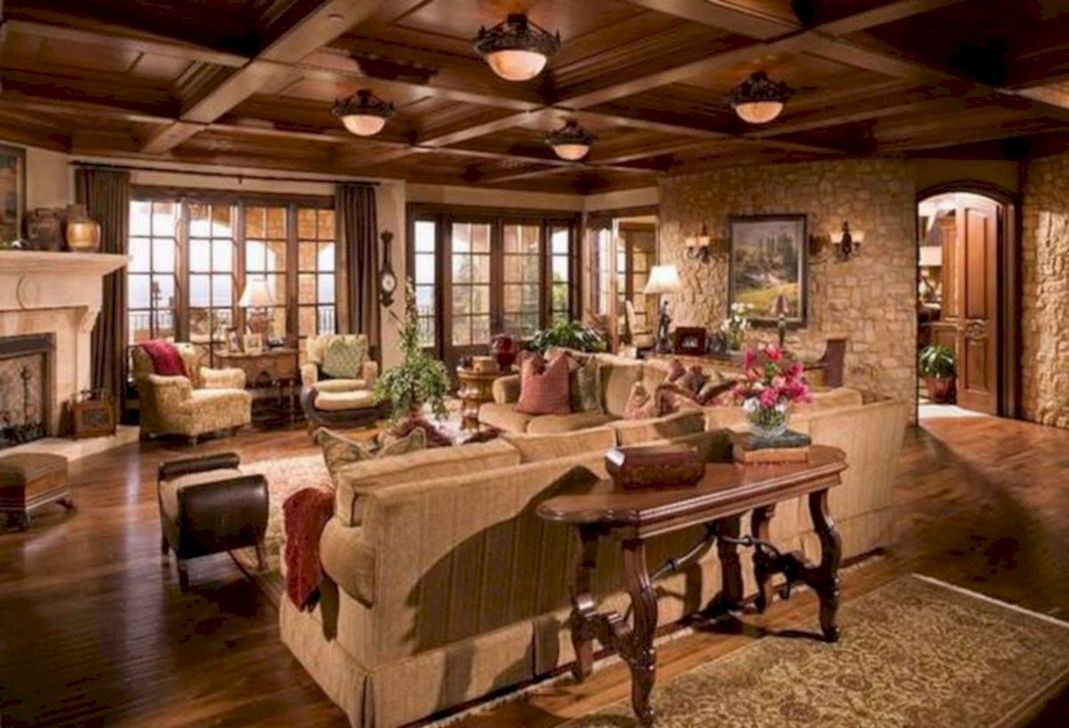 Nice Tuscan Living Room Decor Ideas You Will Love 06