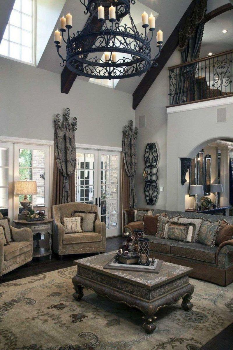Nice Tuscan Living Room Decor Ideas You Will Love 10