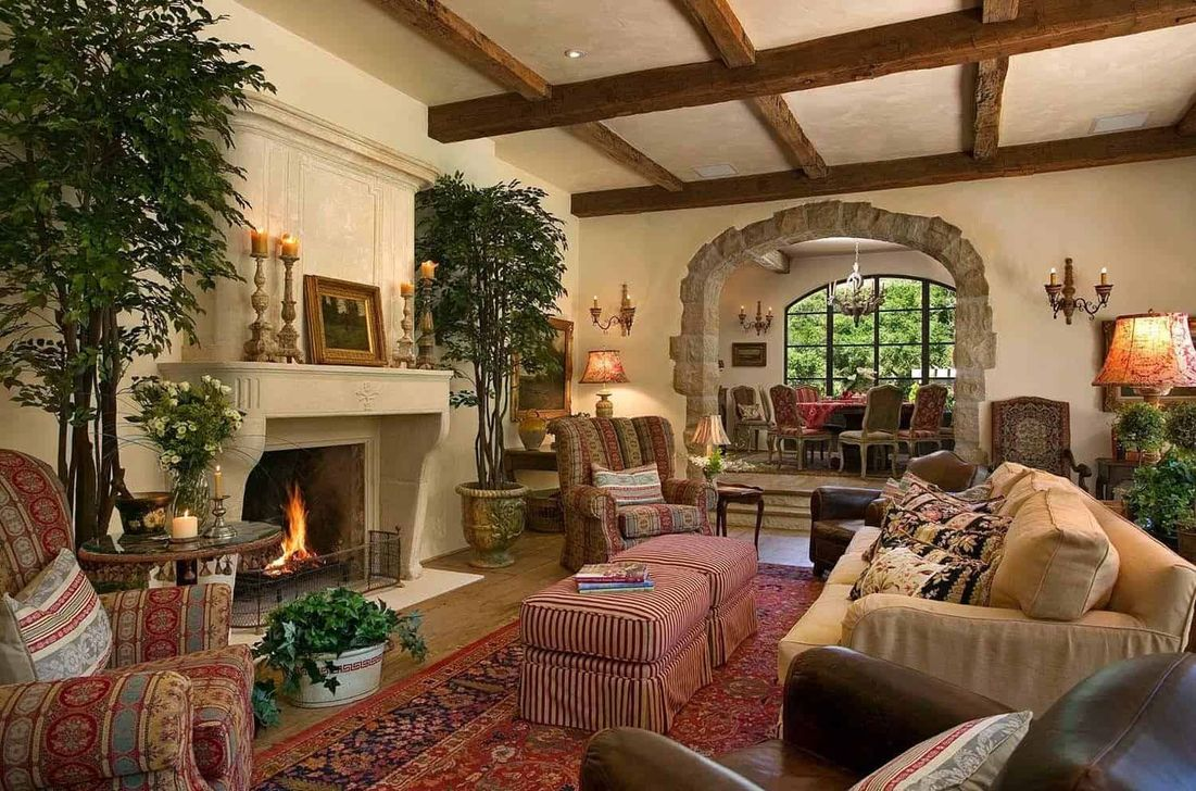 Nice Tuscan Living Room Decor Ideas You Will Love 17