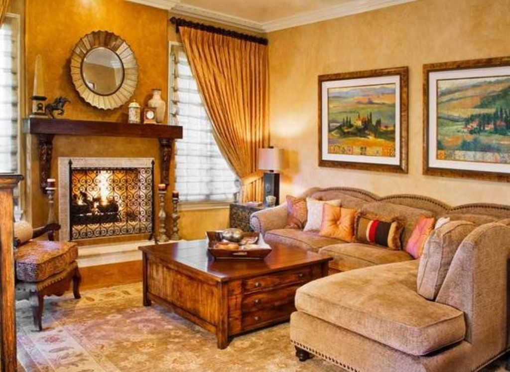 Nice Tuscan Living Room Decor Ideas You Will Love 31