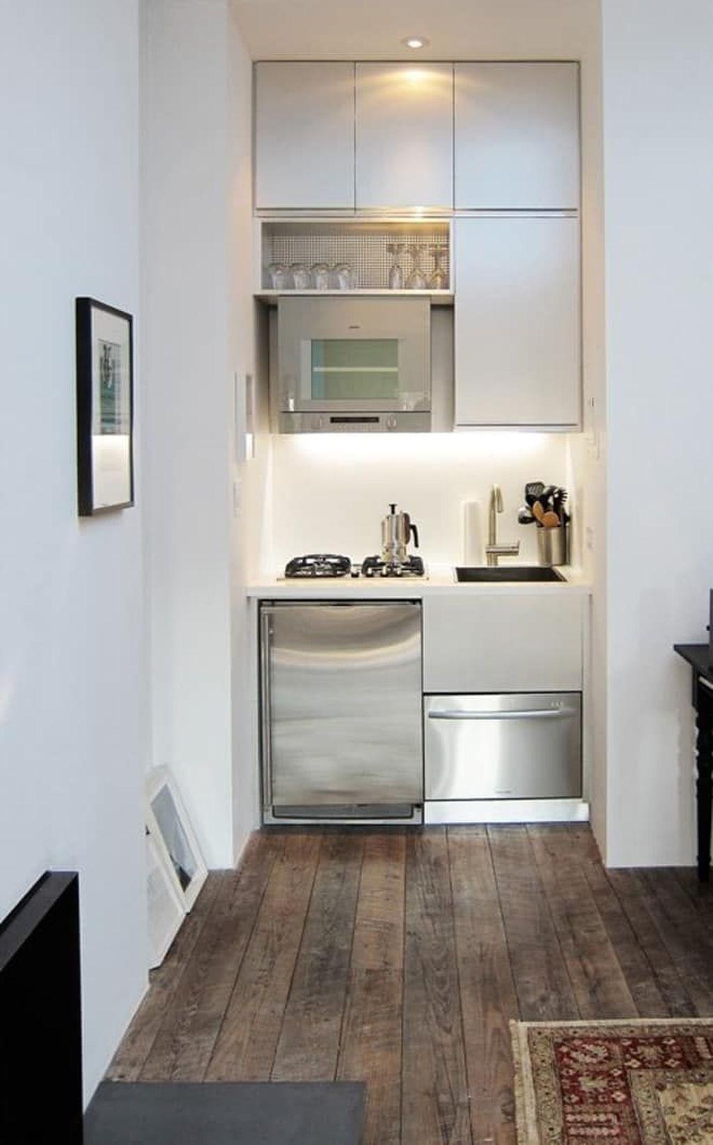 Popular Apartment Kitchen Design Ideas You Should Copy 17