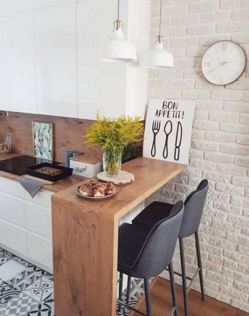 Popular Apartment Kitchen Design Ideas You Should Copy 23