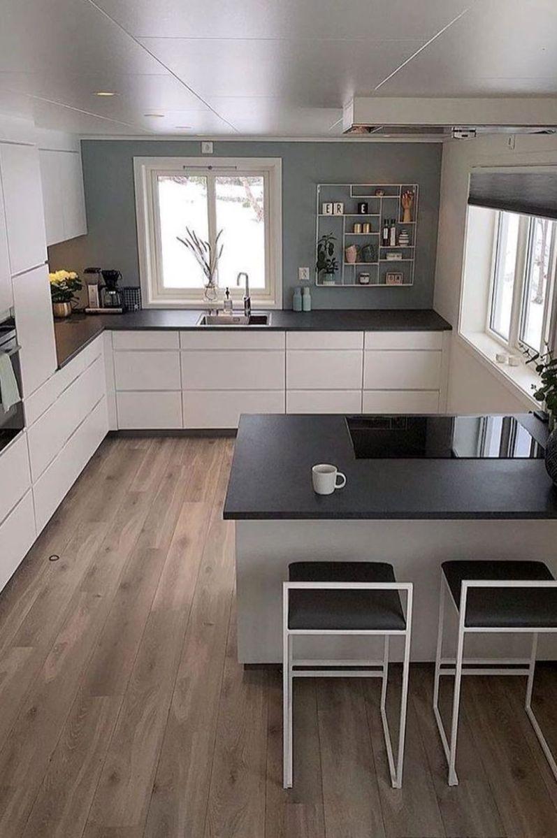 Popular U Shaped Kitchen Design Ideas 08