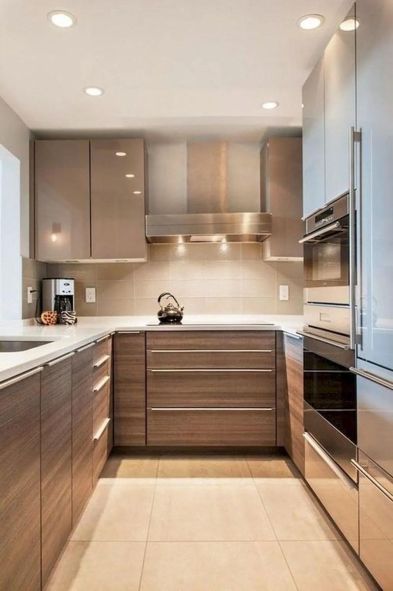 Popular U Shaped Kitchen Design Ideas 15