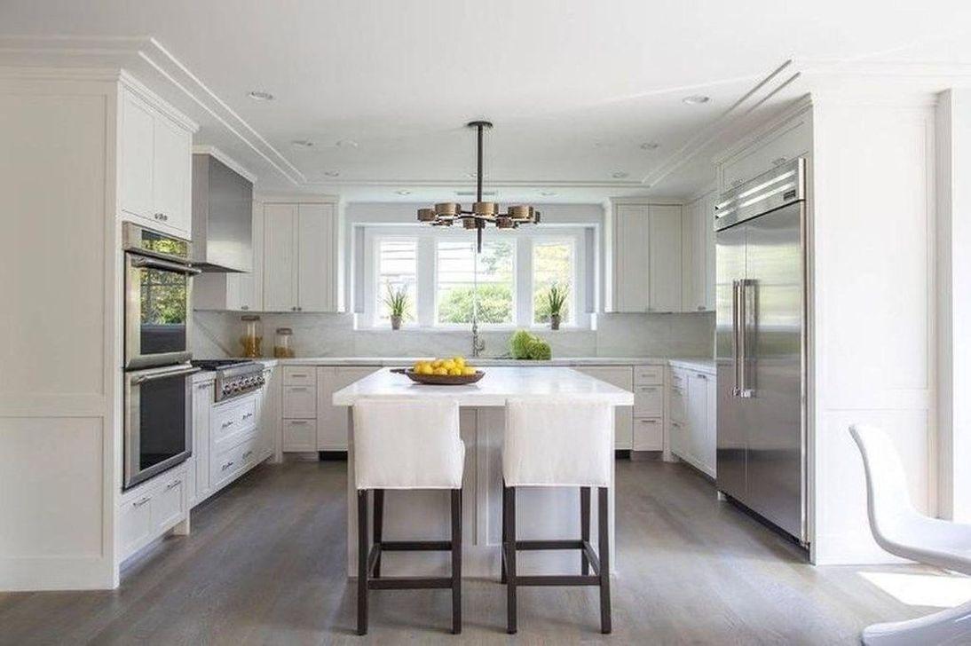 Popular U Shaped Kitchen Design Ideas 19