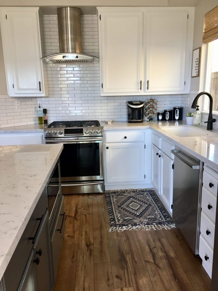 Popular Wooden Cabinets Design Ideas For Your Kitchen Decor 12