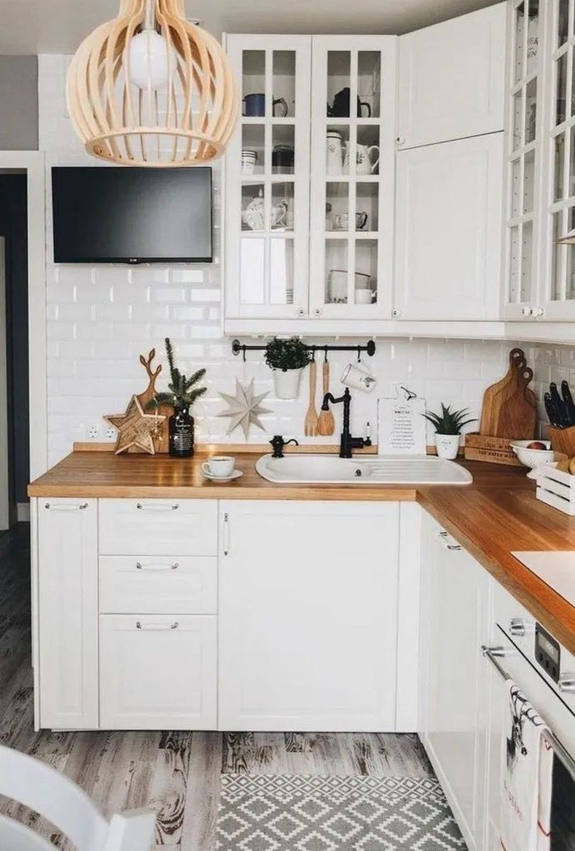 Popular Wooden Cabinets Design Ideas For Your Kitchen Decor 16