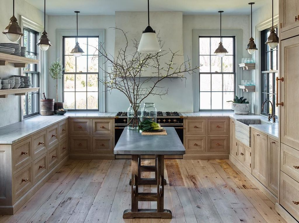 Popular Wooden Cabinets Design Ideas For Your Kitchen Decor 21