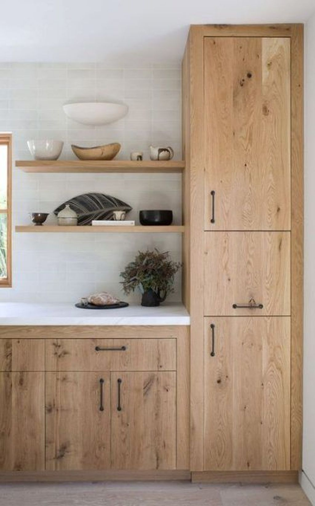 Popular Wooden Cabinets Design Ideas For Your Kitchen Decor 27