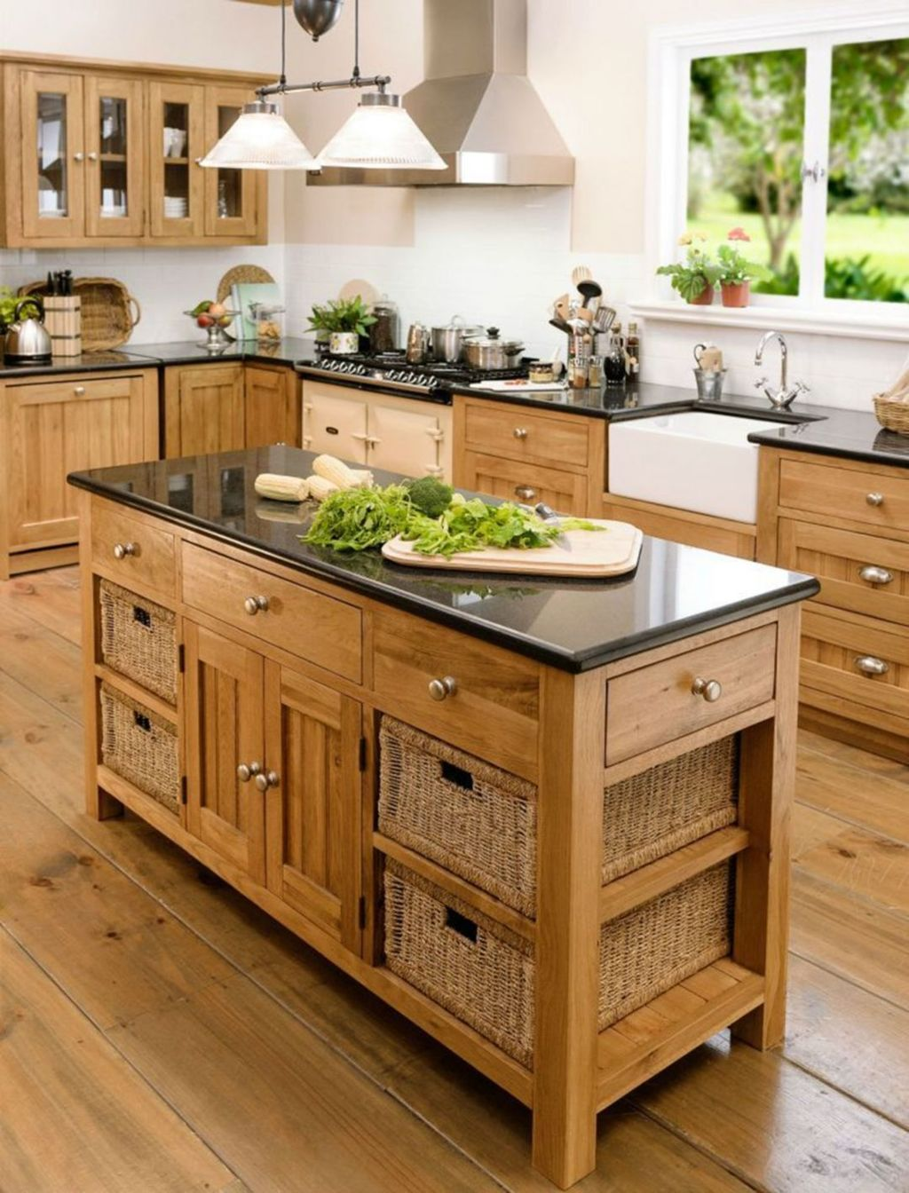 Popular Wooden Cabinets Design Ideas For Your Kitchen Decor 30