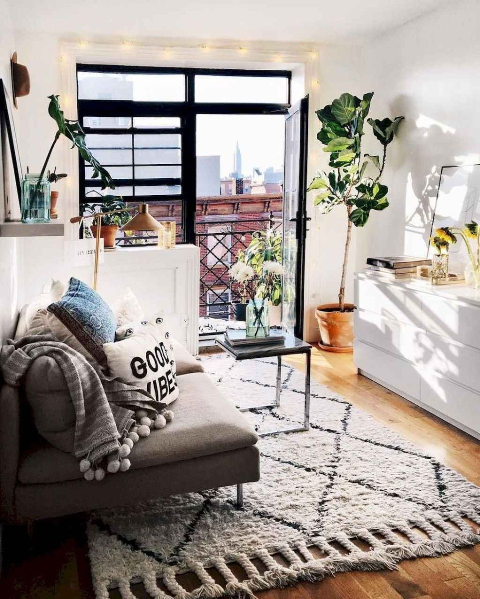 The Best Apartment Living Room Decor Ideas On A Budget 12