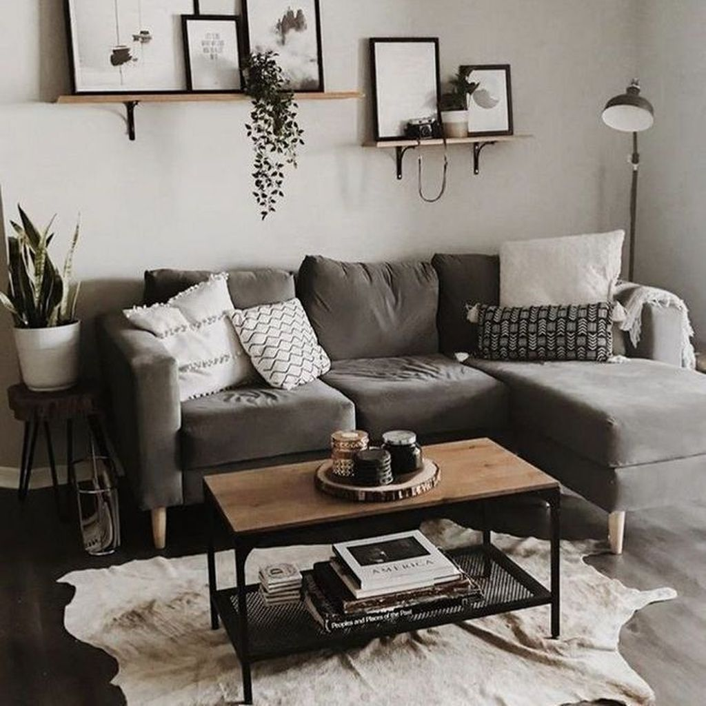 The Best Apartment Living Room Decor Ideas On A Budget 20