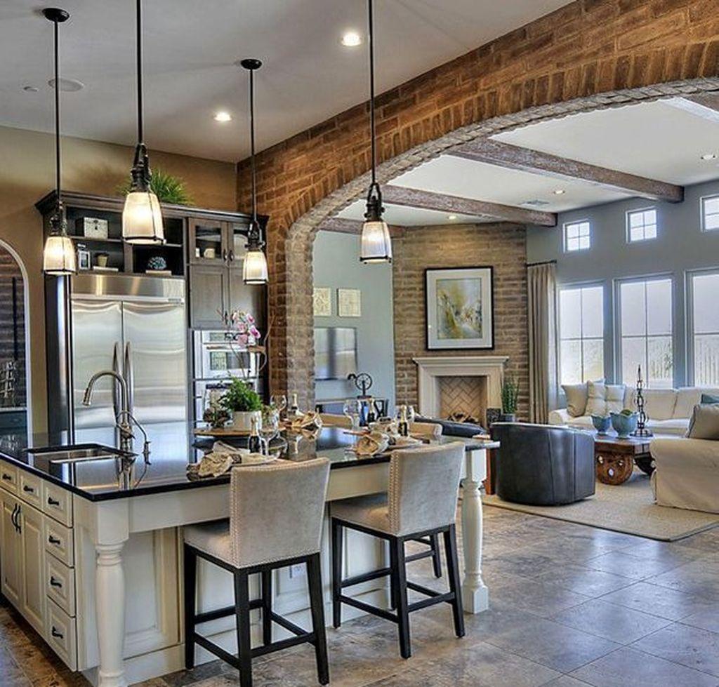 Wonderful Kitchen Lighting Ideas To Make It Look More Beautiful 03