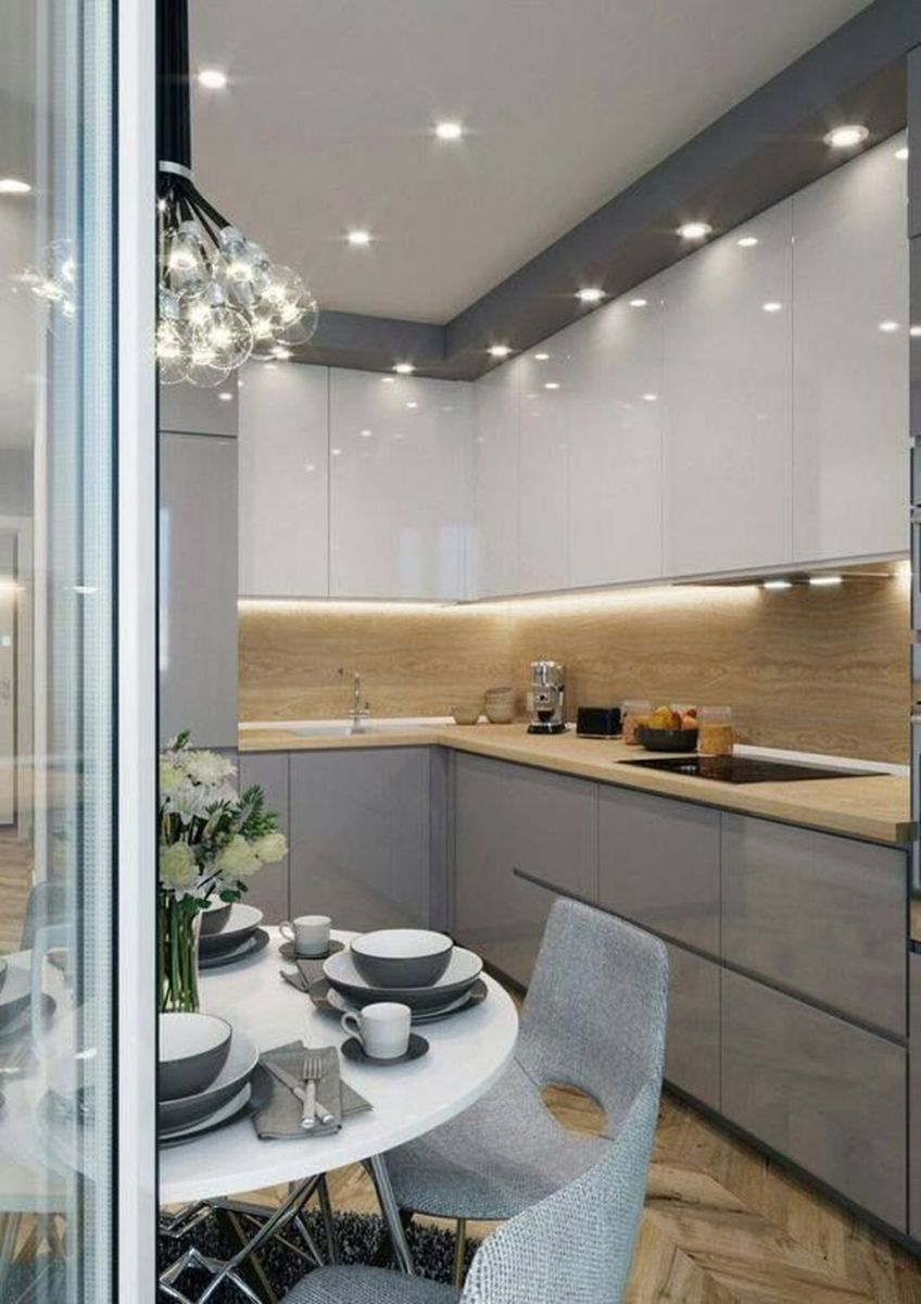 Wonderful Kitchen Lighting Ideas To Make It Look More Beautiful 22