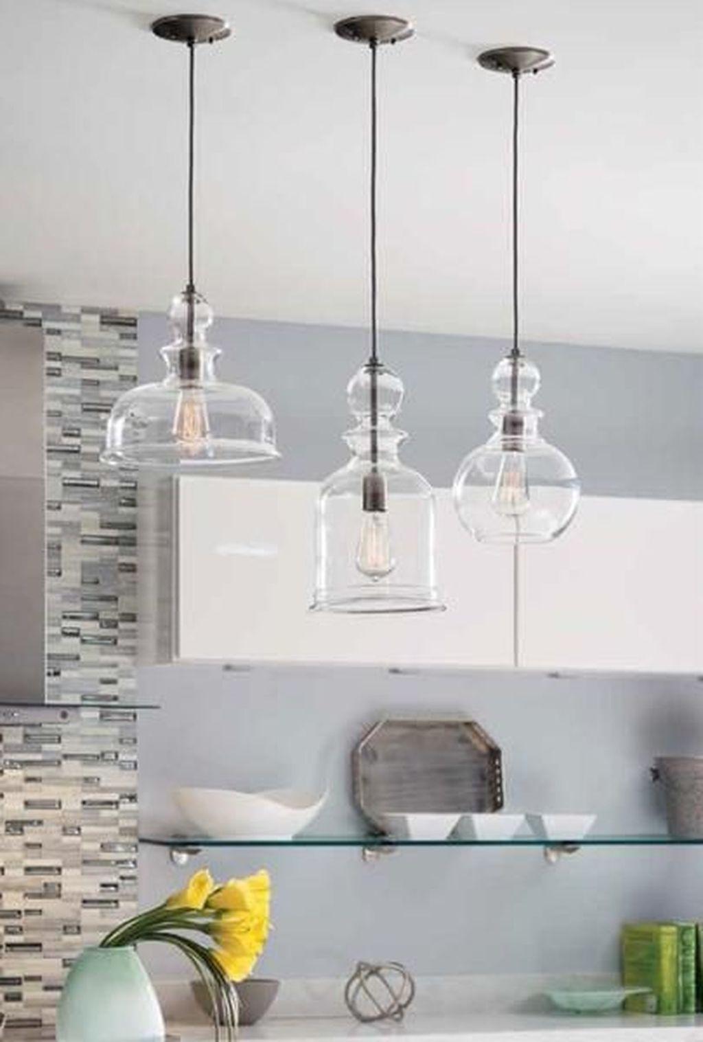 Wonderful Kitchen Lighting Ideas To Make It Look More Beautiful 23