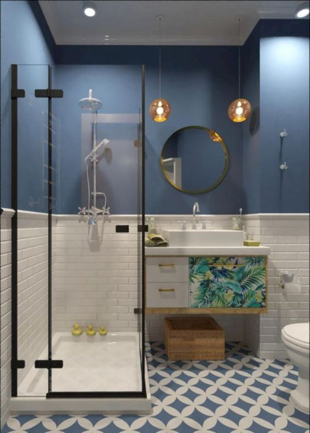 Fabulous Small Bathroom Design Ideas 06