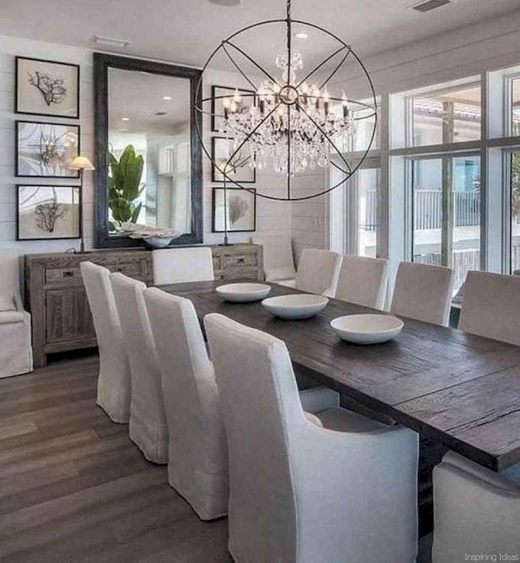 Inspiring Dining Room Buffet Decor Ideas 14