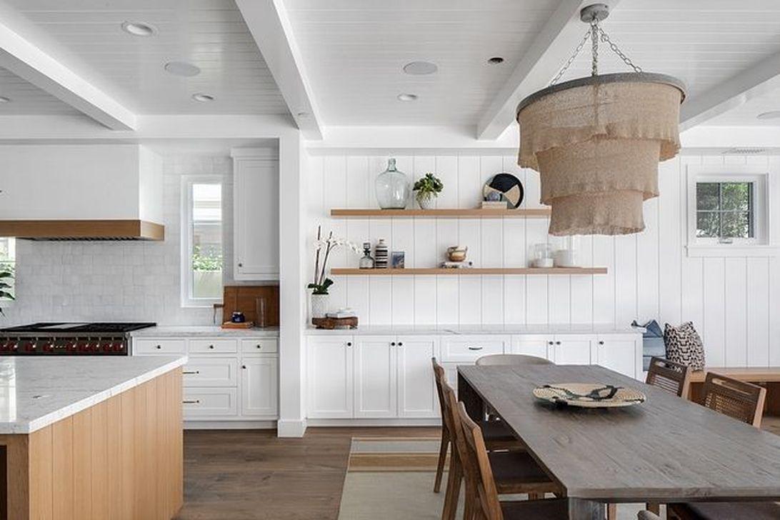 Inspiring Dining Room Buffet Decor Ideas 27