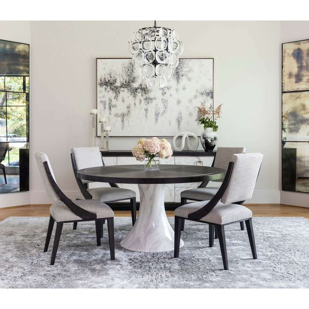 Nice Transitional Dining Room Design Ideas 03