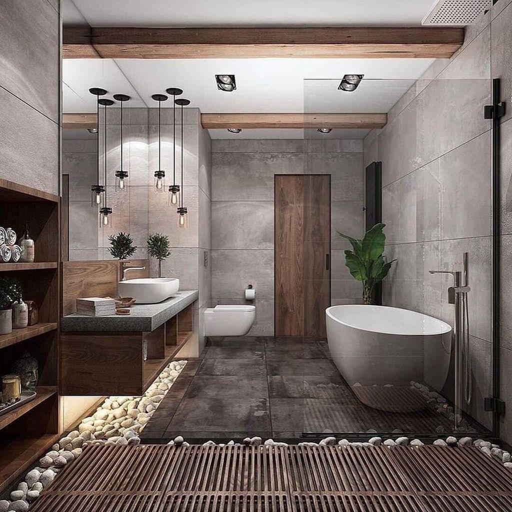 Popular Contemporary Bathroom Design Ideas 24