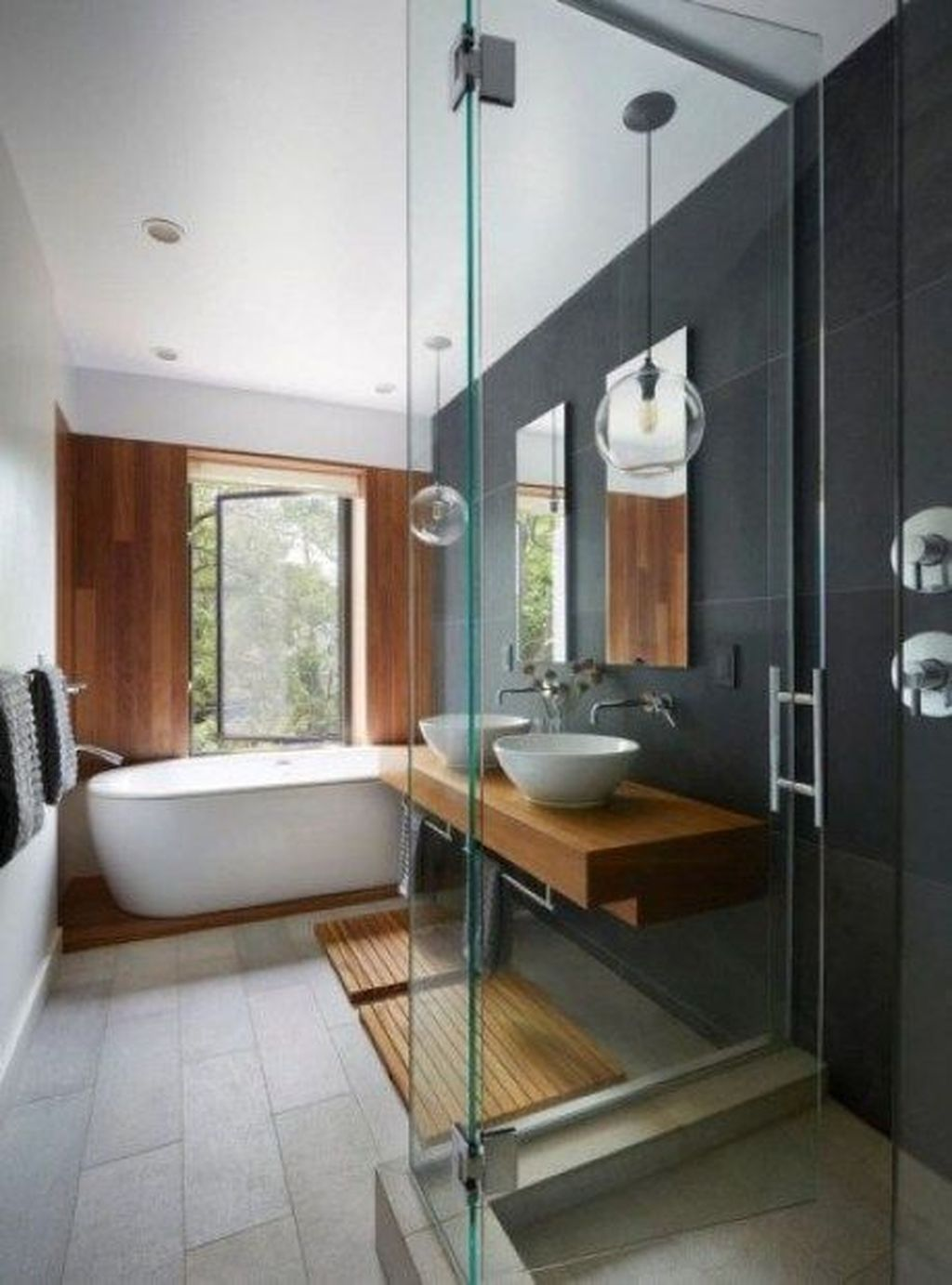 Popular Contemporary Bathroom Design Ideas 25