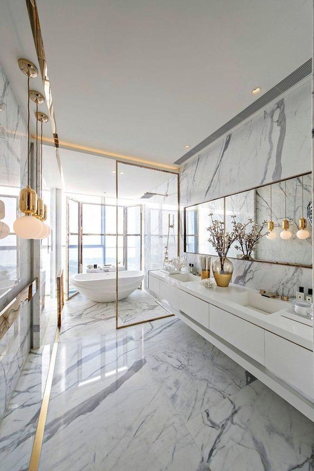 Popular Contemporary Bathroom Design Ideas 27