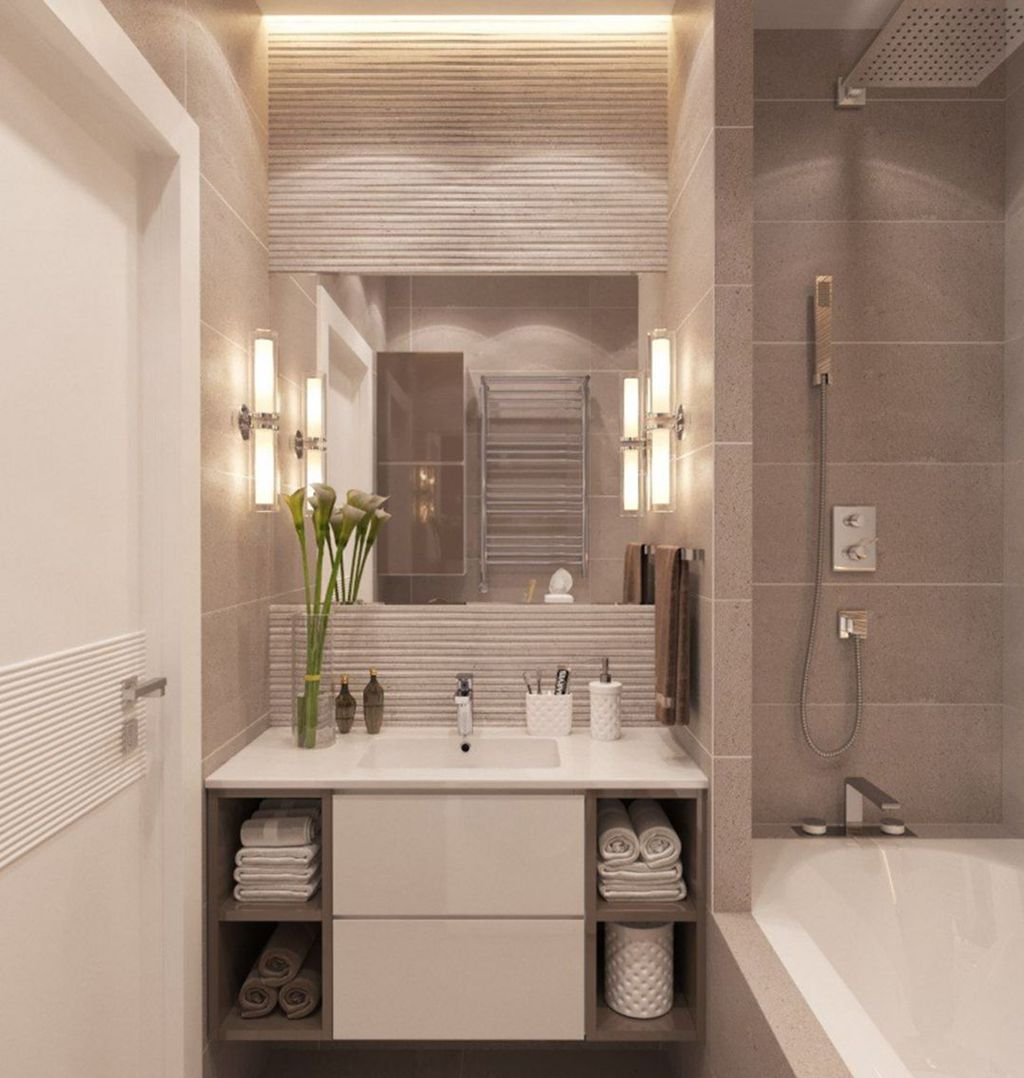 Popular Contemporary Bathroom Design Ideas 32