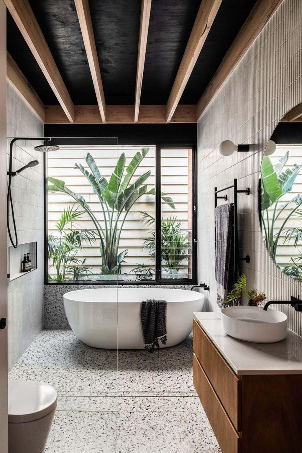 Popular Contemporary Bathroom Design Ideas 33