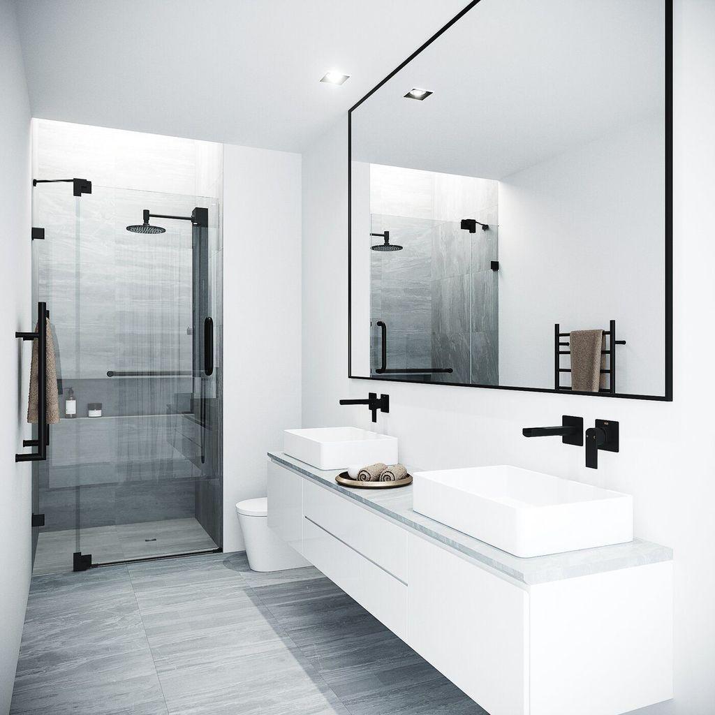 Popular Contemporary Bathroom Design Ideas 34