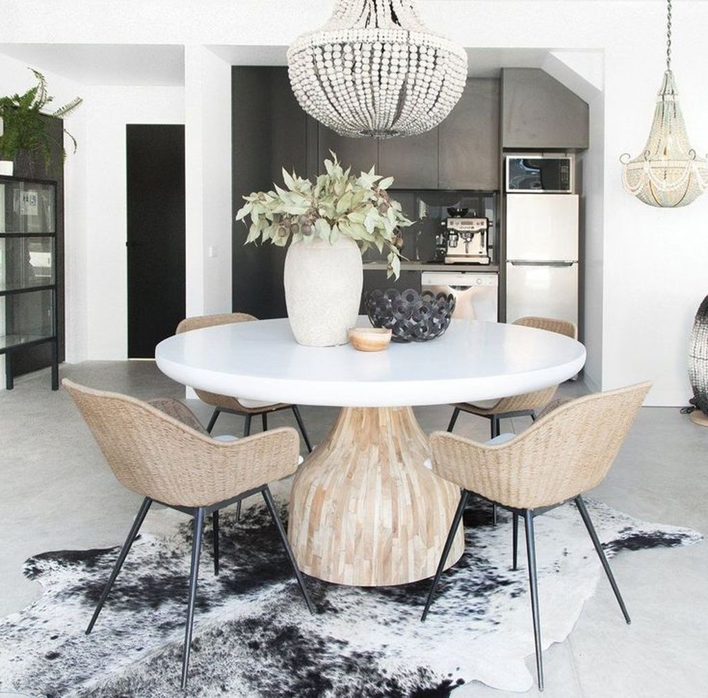Stunning Dining Room Table Design With Modern Style 05