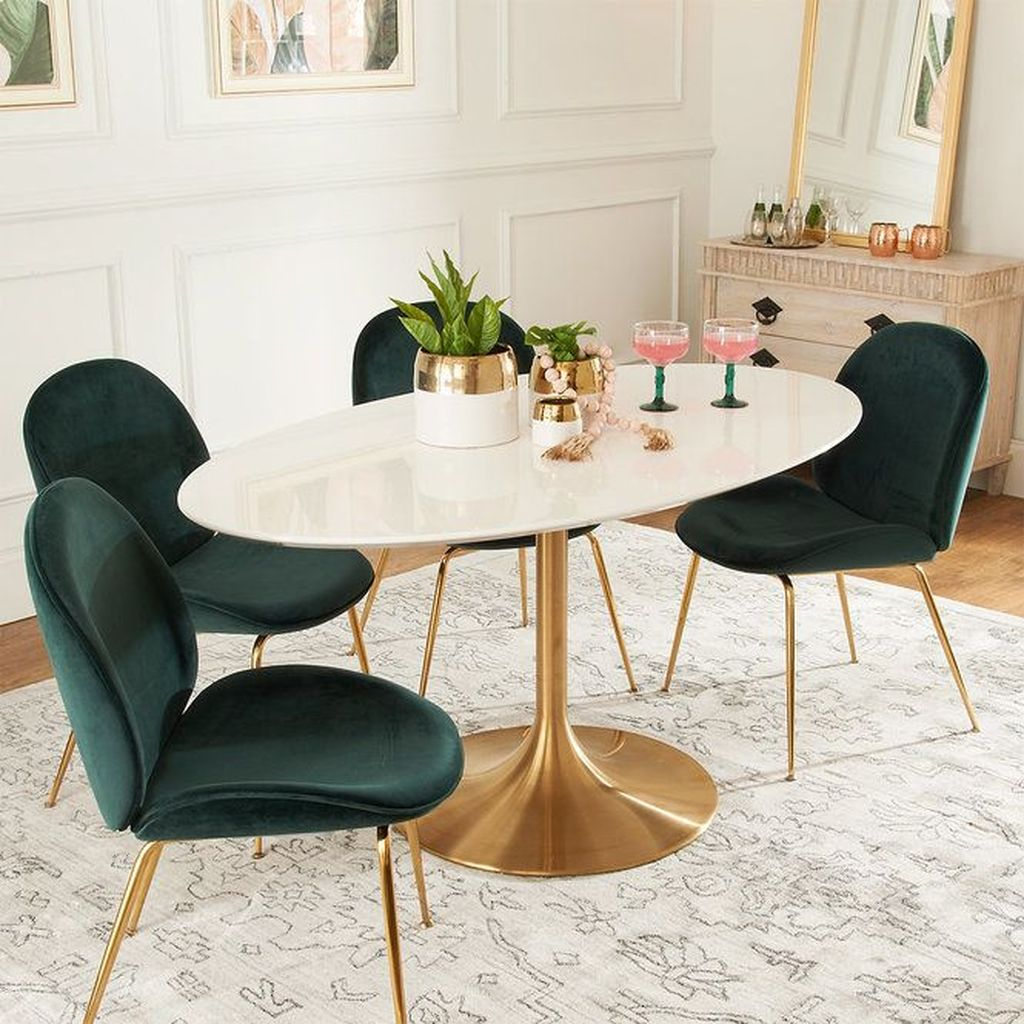 Stunning Dining Room Table Design With Modern Style 10