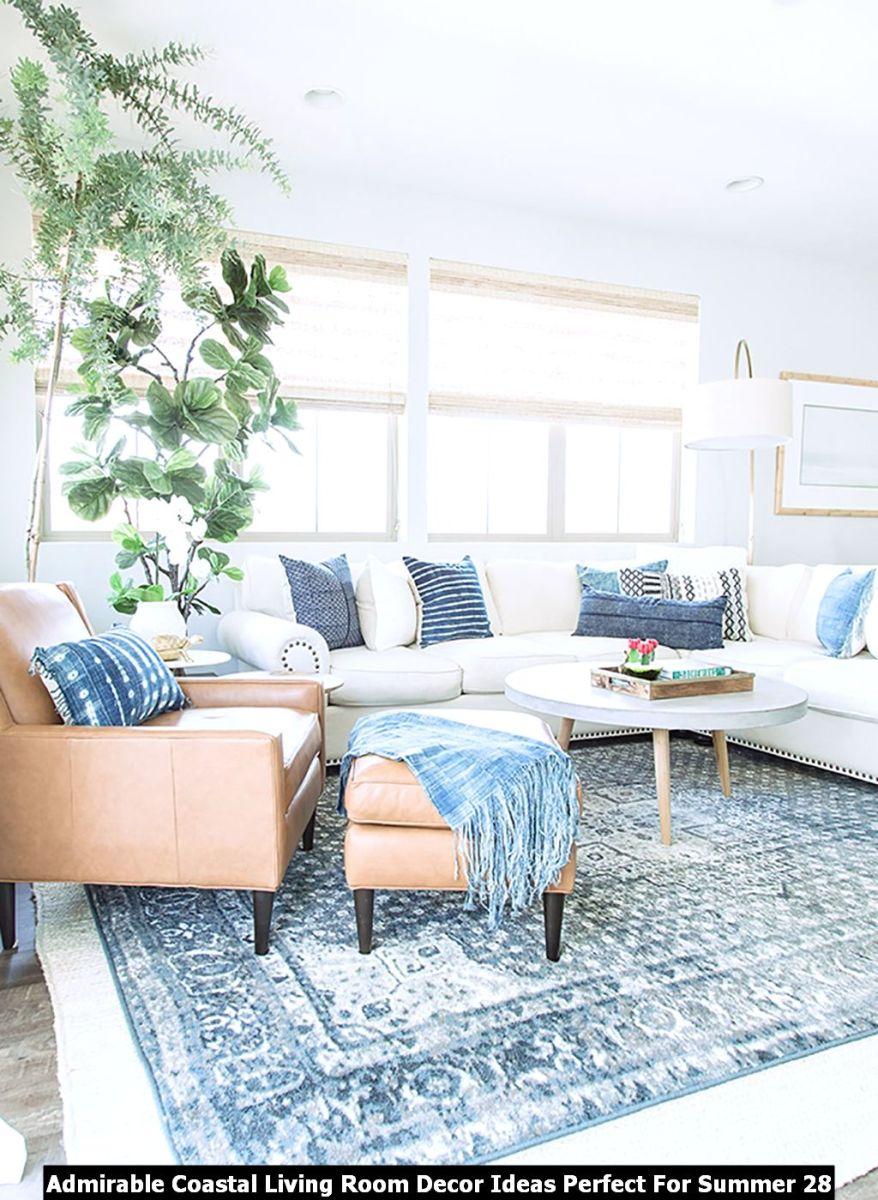 Admirable Coastal Living Room Decor Ideas Perfect For Summer 28