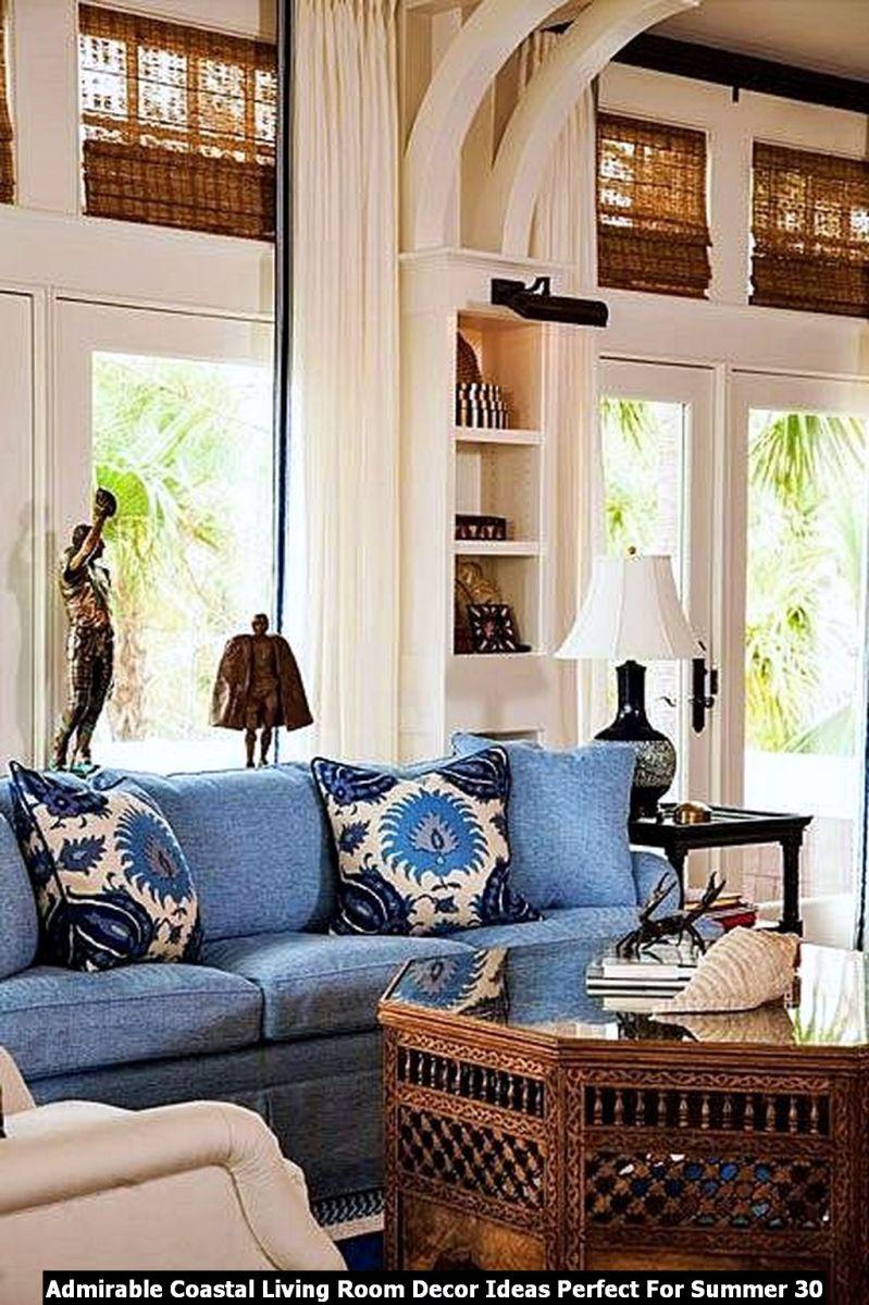 Admirable Coastal Living Room Decor Ideas Perfect For Summer 30