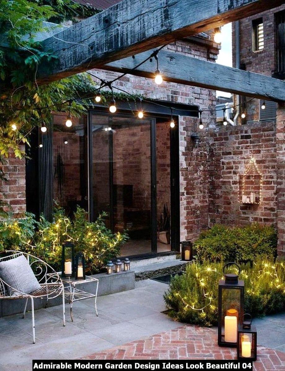 Admirable Modern Garden Design Ideas Look Beautiful 04