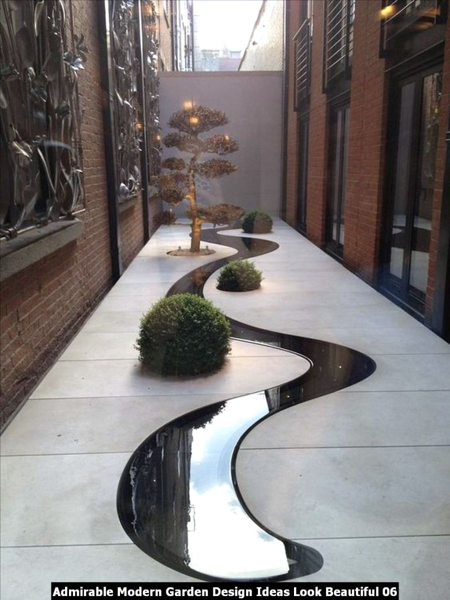 Admirable Modern Garden Design Ideas Look Beautiful 06